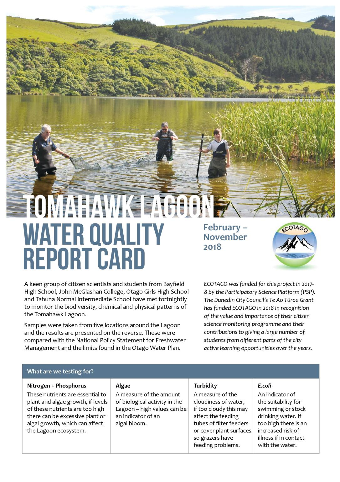 Tomahawk Lagoon Water Quality Report Card 2018 v4-page-001